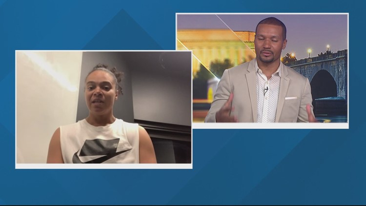 'I'm riding with 06 all-day' | Maryland national champion Kristi Toliver would pick the 2006 team over this year's Terps team