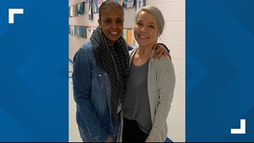 An unexpected reunion: A Fairfax County teacher discovers her former student is her co-worker over 20 years later