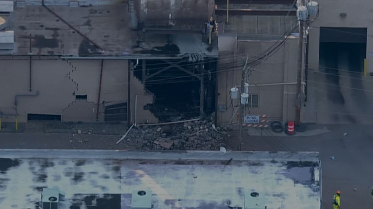 Emergency crews respond to explosion at milk plant in Virginia