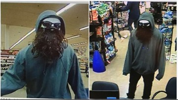 Police searching for Gaithersburg bank robbery suspect