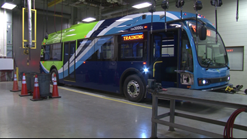 Electric buses in Maryland could make Virginia and DC go green, too