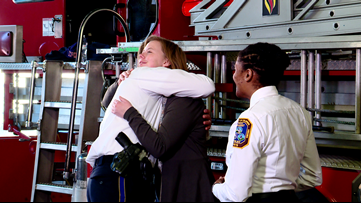 DC woman gets chance to thank first responders, bystanders who helped bring her back to life at Metro stop