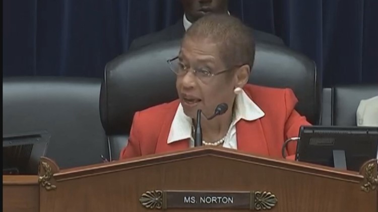 Del. Eleanor Holmes Norton was elected in 1990, and has long been an advocate for D.C. statehood.