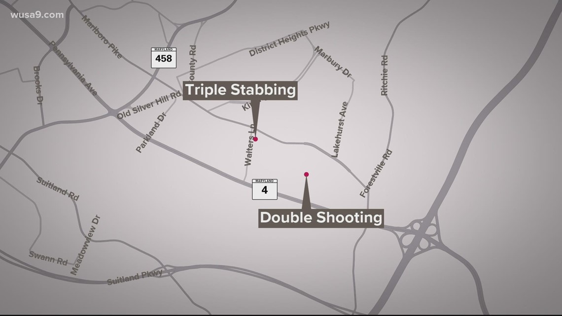 5 hurt in Prince George's County violence
