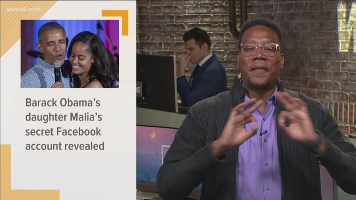 Malia Obama has a secret Facebook account