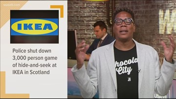 Police shut down 3,000 person game of hide-and-seek at IKEA in Scotland