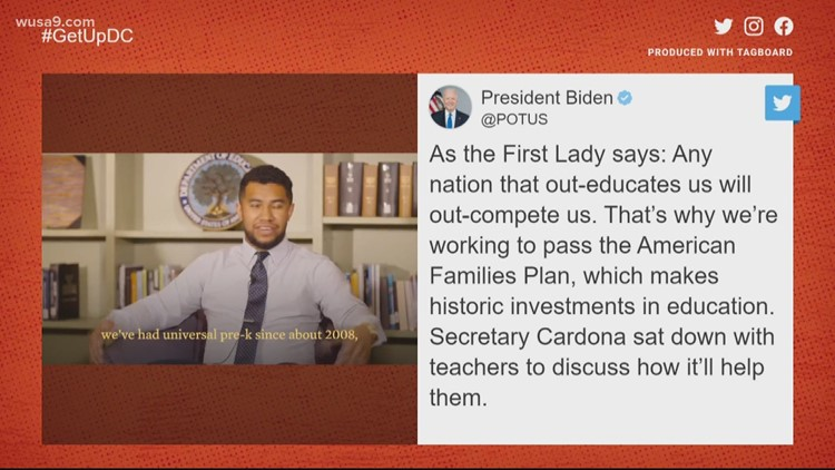 Beloved DC teacher talks with the US Secretary of Education | Get Uplifted