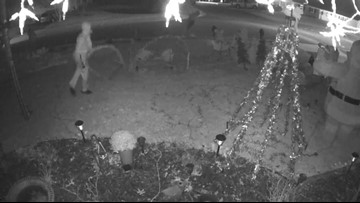 Police search for Grinches who destroyed Bowie neighbors' decorations