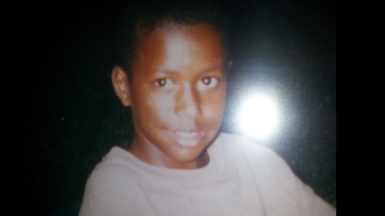 Photo of 12 -year-old Darryl Hall before he was shot in 1997