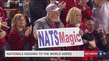The Nats make history with World Series win