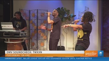 Rap duo TWXXN makes their TV debut on the DMV Soundcheck
