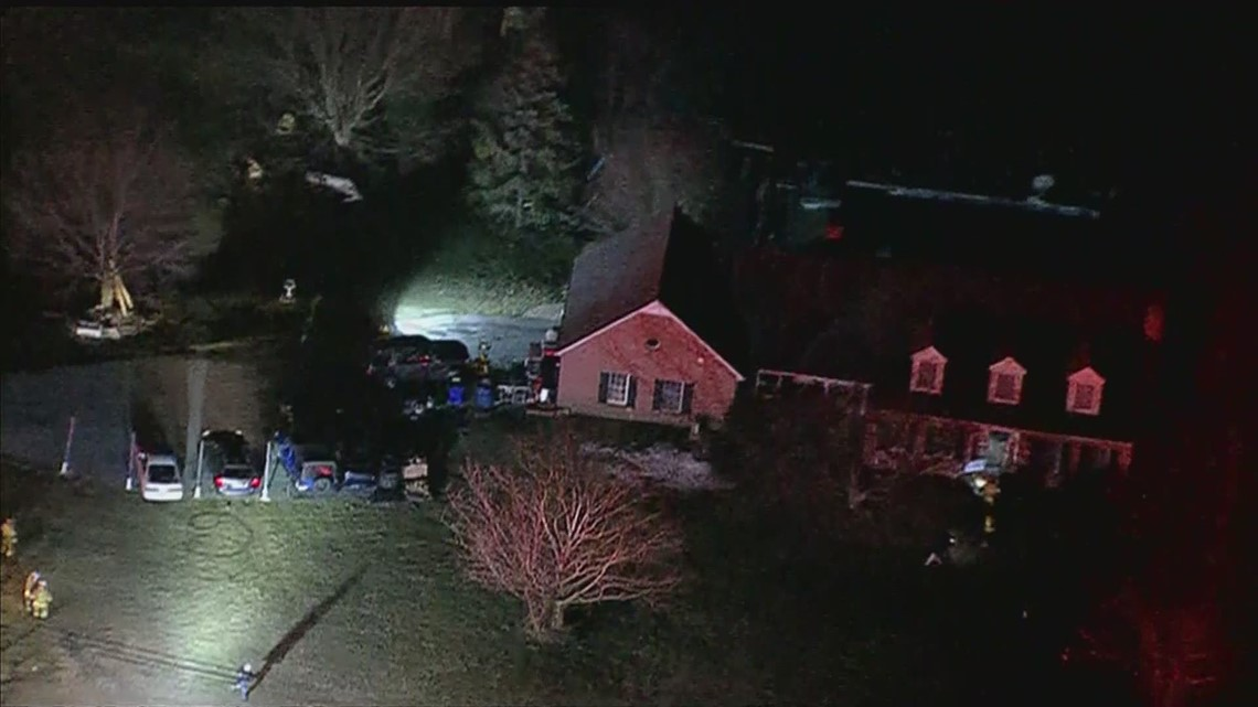 Propane explosion inside Frederick County house leaves man injured, displaces 10 people