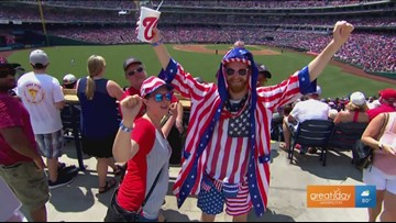 Celebrate the Fourth of July Weekend with the Nats!
