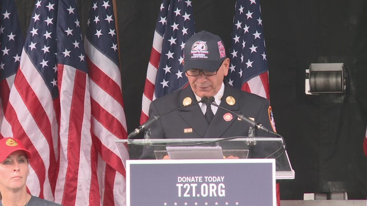 Tunnel To Towers holds 20-year 9/11 Memorial Walk
