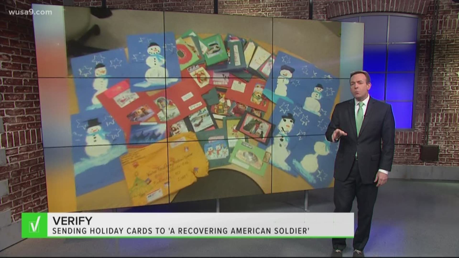 Social Media Rumor Of Sending Holiday Letters To Unnamed Solders Wusa9 Com
