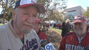 '1949. He was 3 and I was 6.' | Two brothers recall their first trip to a Senators game while celebrating at the Nats parade