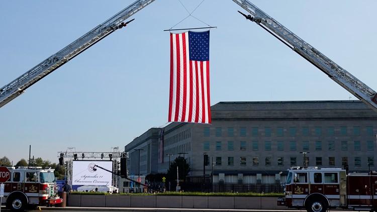 PHOTOS: Pentagon honors 9/11 heroes