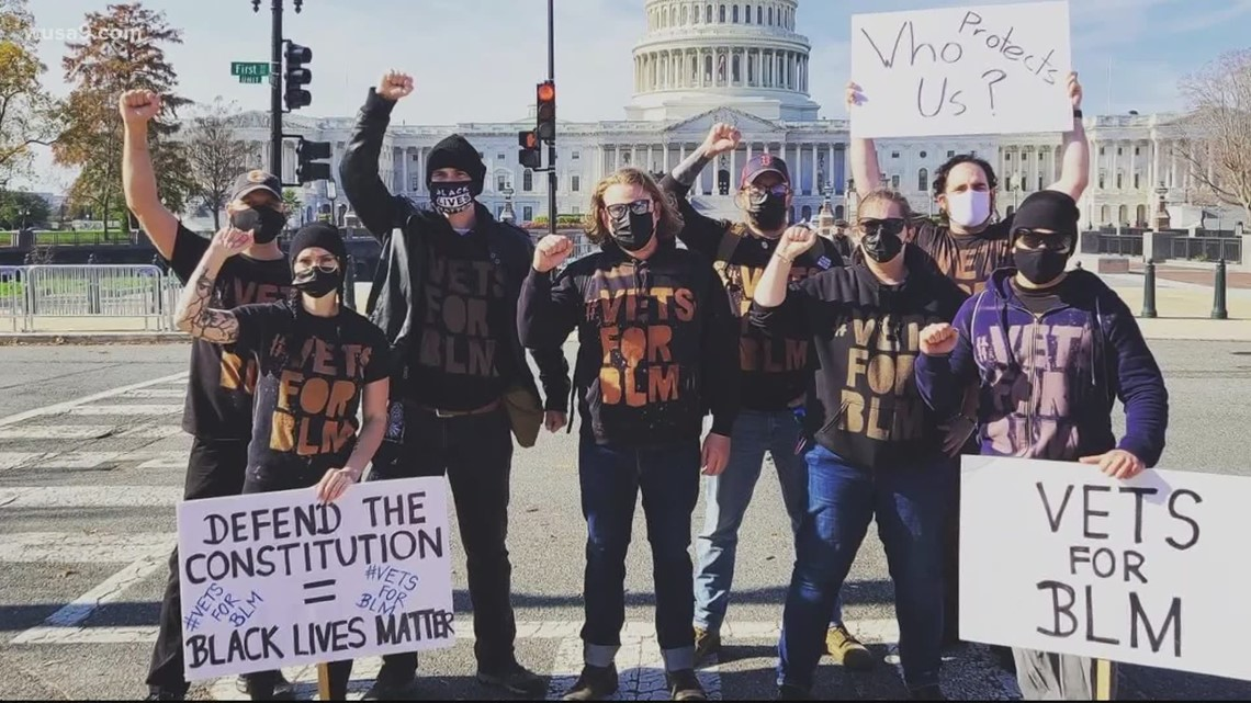 DC veteran group works to clean up city after attack on Capitol, denounces insurrection