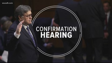 Attorney general nominee confirmation hearing