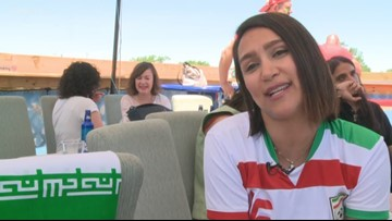 World Cup represents freedom for Iranian woman