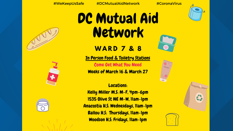 dc mutual aid flyer