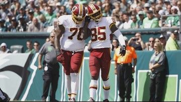 Vernon Davis scores emotional touchdown for Redskins