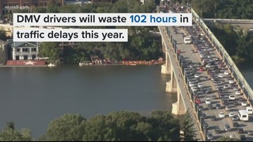 DC ranks 3 for worst traffic in the country