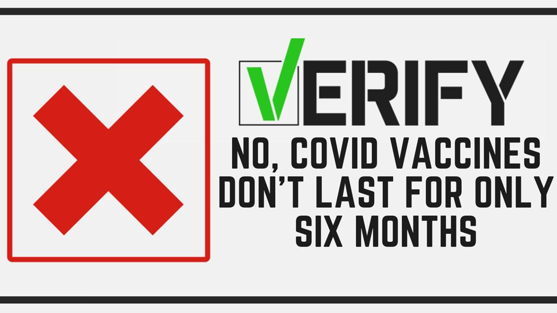 How long do the covid vaccines last? CDC fact check J&J symptoms