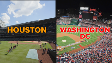 World Series Weather in DC, Houston