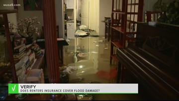 VERIFY: Does renters insurance cover flood damage?