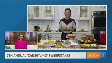 """Submit your recipe for the 7th annual """"Cansgiving"""" Sweepstakes"""""""