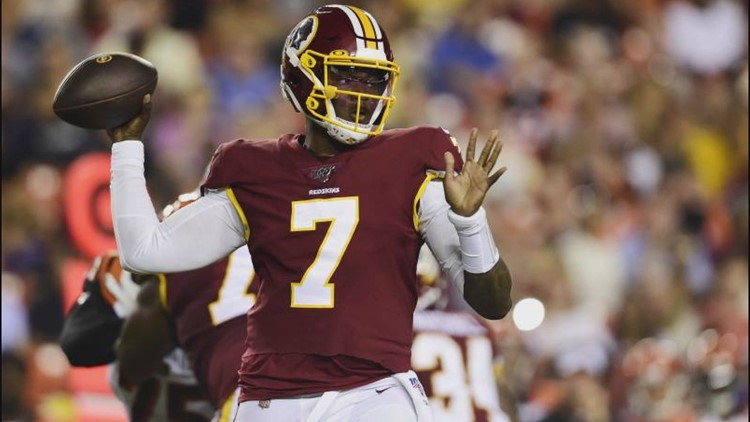 Dwayne Haskins throws TD in Redskins' loss | wusa9.com