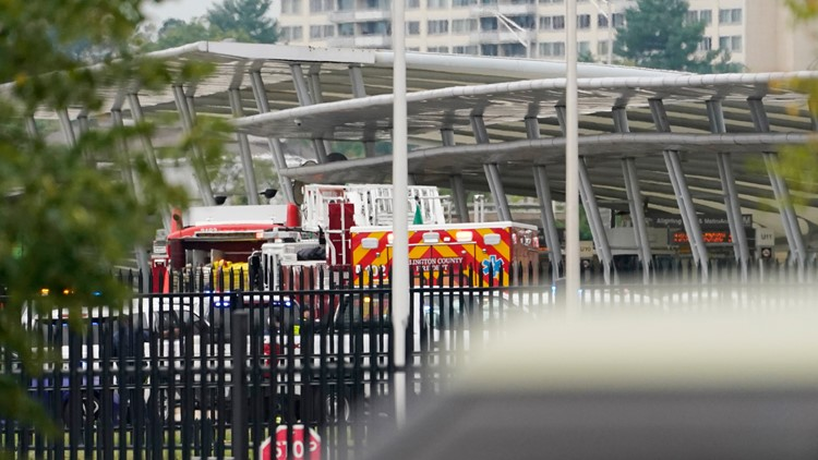 Pentagon Transit Center remains closed Wednesday following shooting investigation