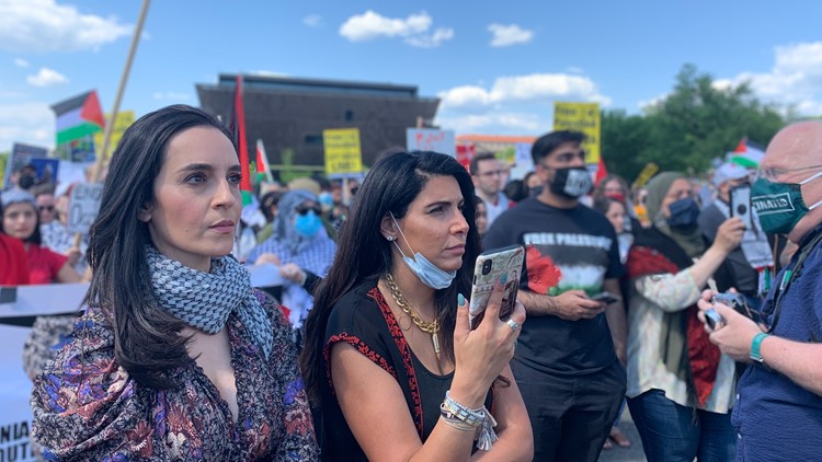 Nakba Day rally near National Mall comes amid growing military tensions between Palestine and Isreal