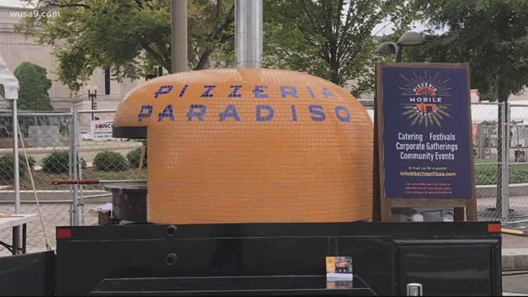 Have you seen this stolen mobile pizza oven?