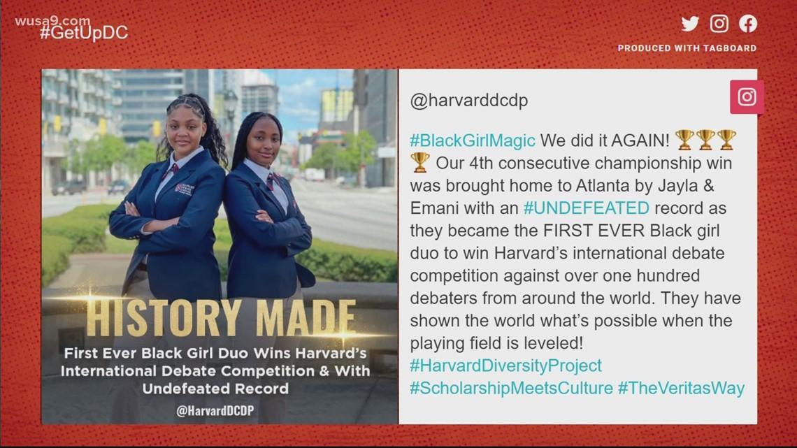 Black girl debate team makes history at Harvard   Get Uplifted