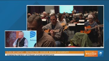 Dominion Energy's Veterans Guitar Workshop Creates Strong Bonds