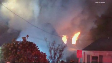1 dead after house fire in Alexandria