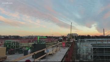 Update on Memorial Bridge construction