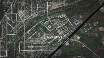 2 boys injured after gunfire rips through SE DC home
