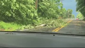 EF-1 tornado touched down in Columbia, Md , National Weather