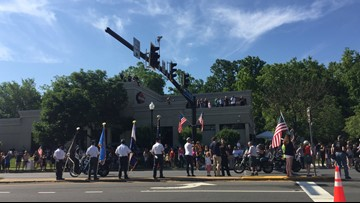 Thousands take part in final Rolling Thunder ride