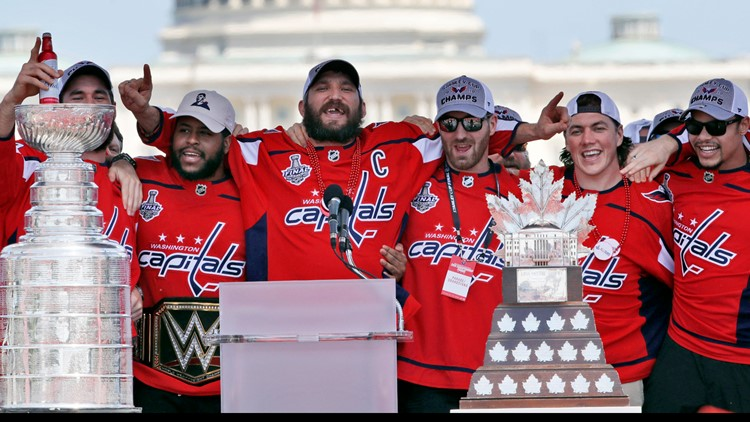 Capitals Hockey Stanley Cup Parade