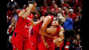 Why is the Mystics WNBA celebration parade delayed until 2020?