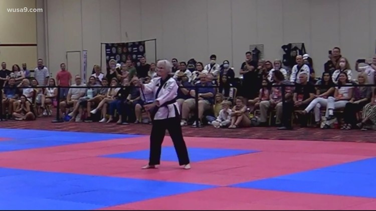 83-year-old woman earns her black belt in karate | Get Uplifted