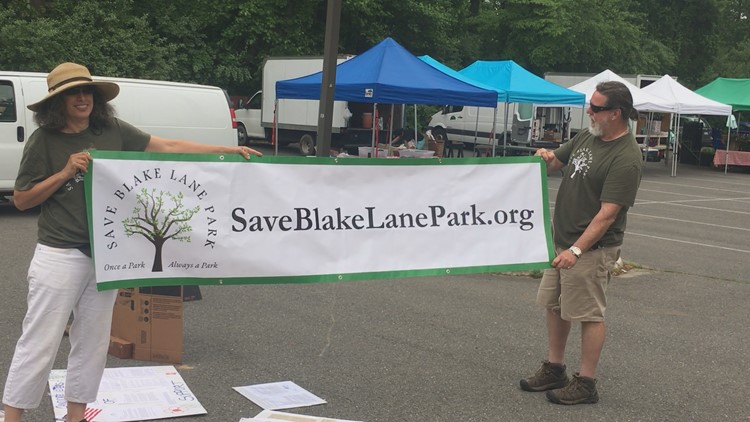 Fighting to save Blake Lane Park