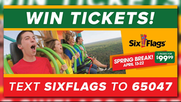 Win tickets to Six Flags America