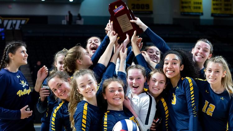 LCHS girls' volleyball