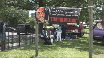 Families who've lost a loved one to gun violence come together in Ward 8