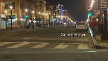 Ghost town: DC streets are empty in the coronavirus era